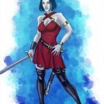 Femme Vampire couleurs